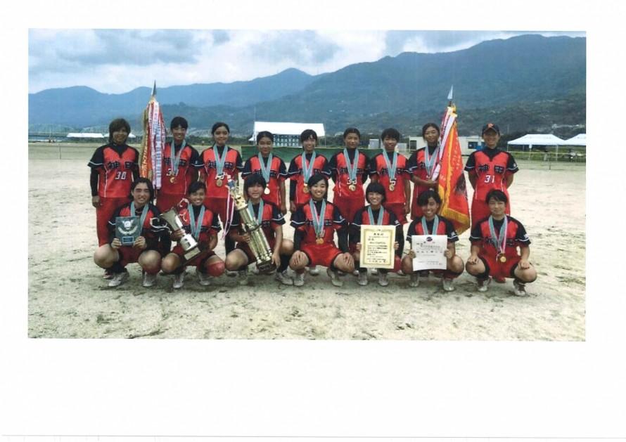 2019.08.30-Kanda-Jogakuen-Softball-team